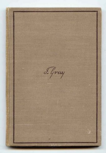 Image for Gray & His Poetry (Poetry & Life Series)