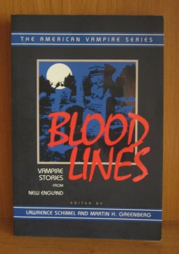 Image for Blood Lines: Vampire Stories from New England (The American Vampire Series)
