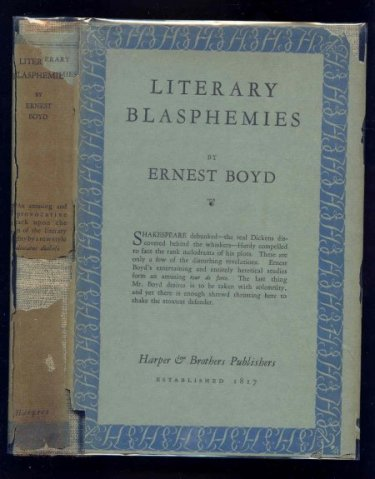 Image for Literary Blasphemies