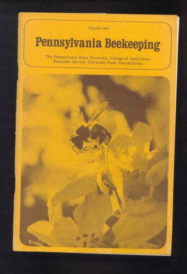 Image for Pennsylvania Beekeeping. Circular 544.