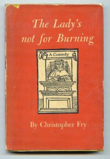 Image for The Lady's Not for Burning