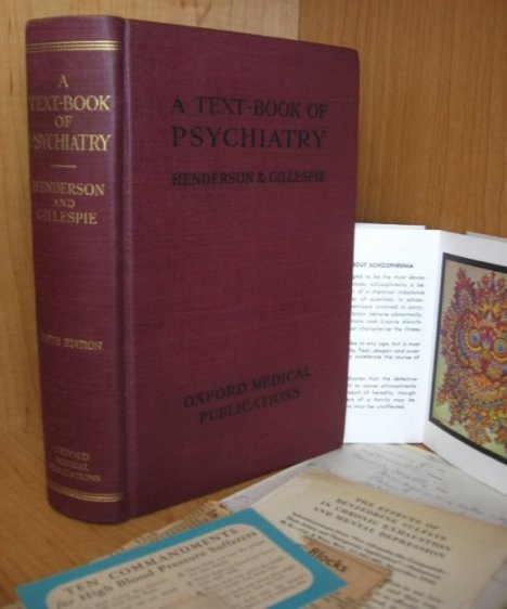 Image for A Text-Book of Psychiatry for Students and Practitioners [Oxford Medical Publications] with Related Ephemera.