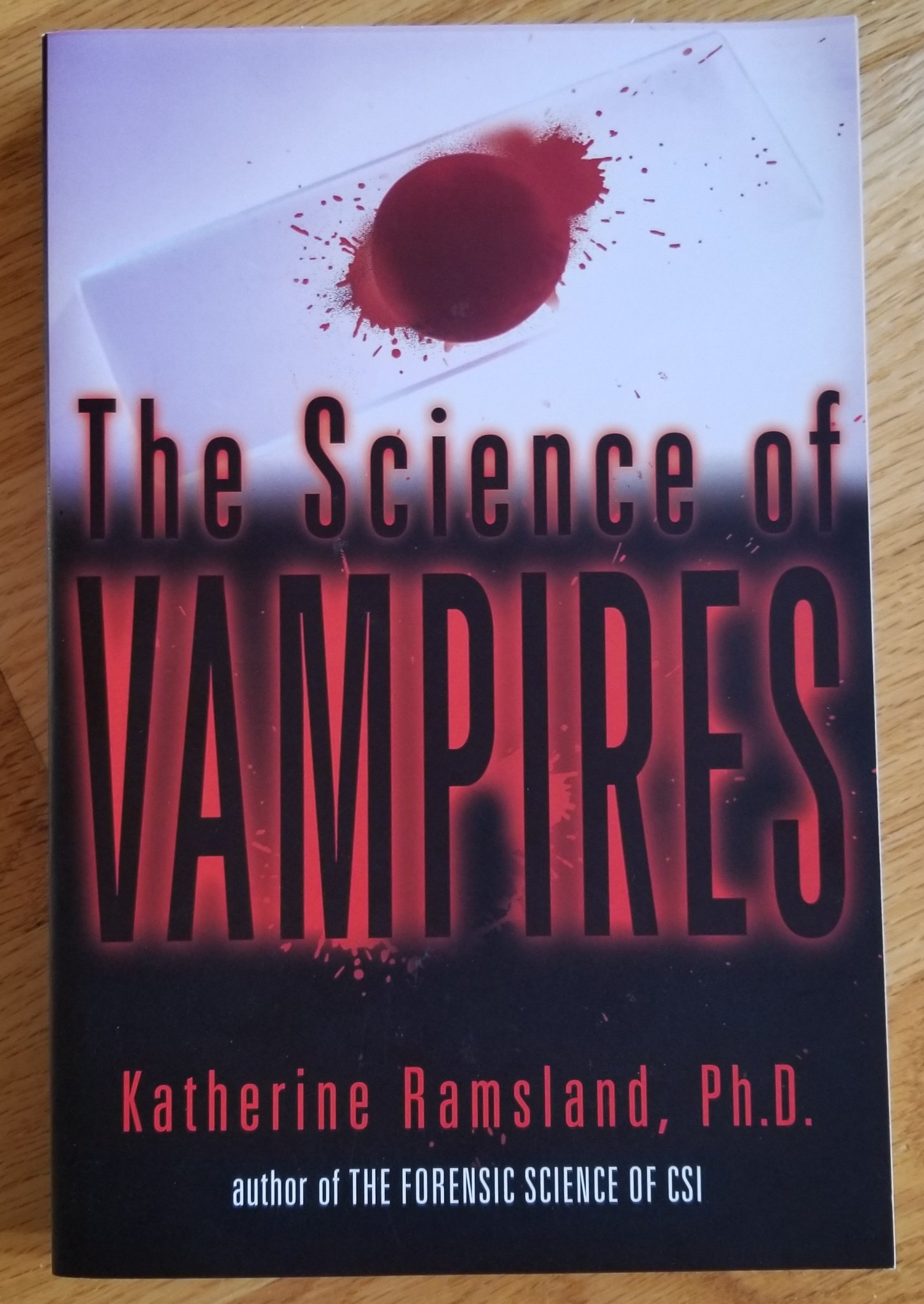 Image for The Science of Vampires.