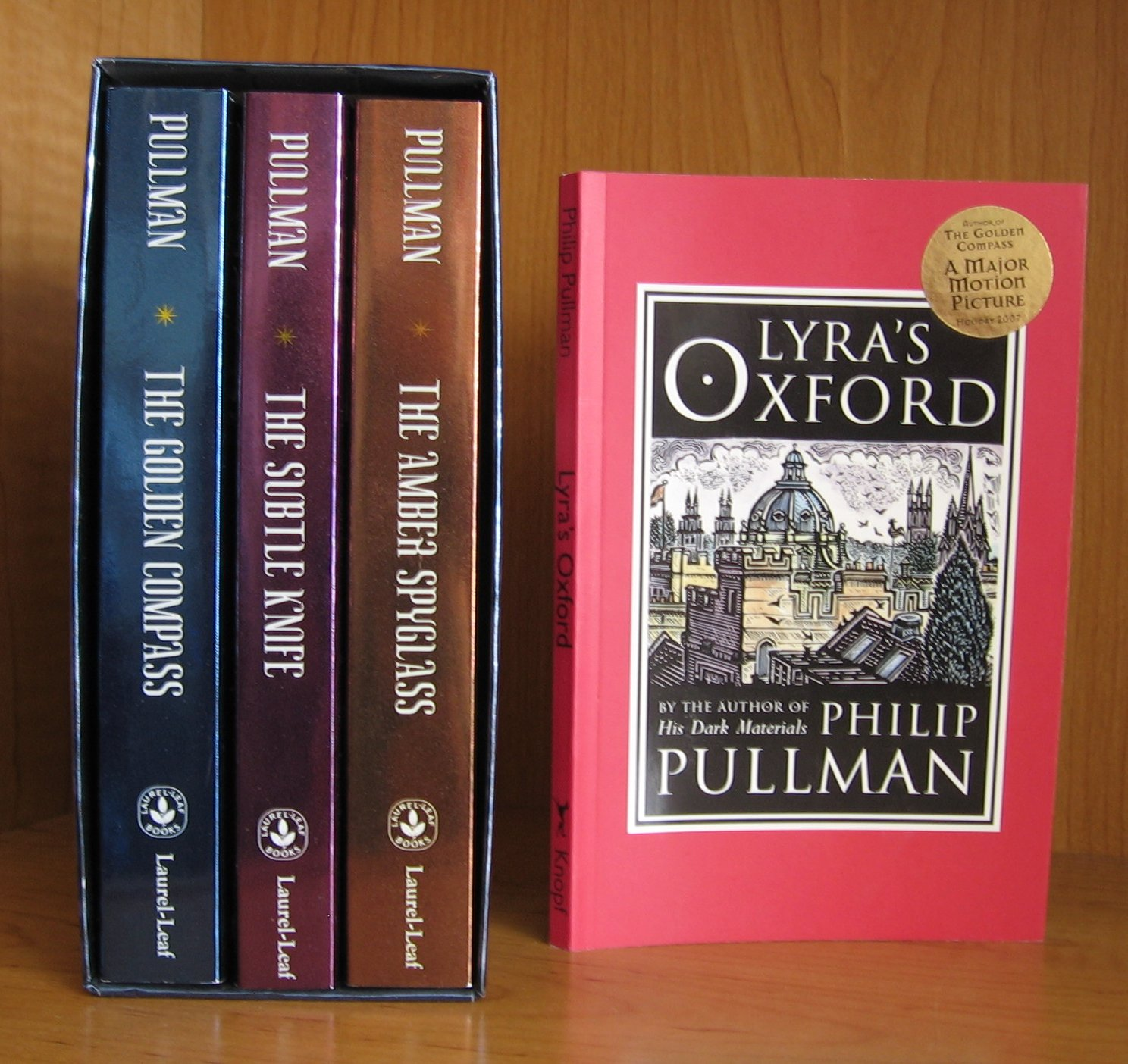 Image for His Dark Materials.Trilogy, with Lyra's Oxford and map Included.