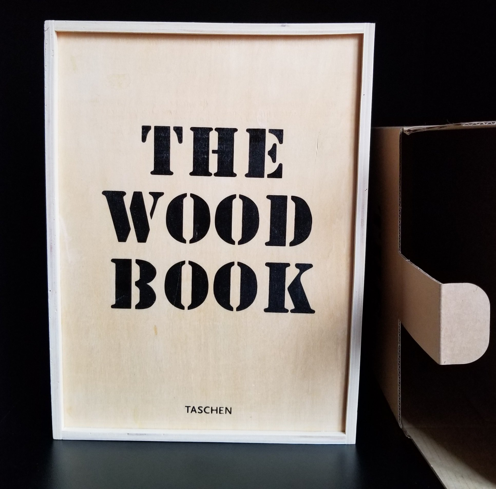 Image for The WoodBook [The Wood Book] in Wooden Box