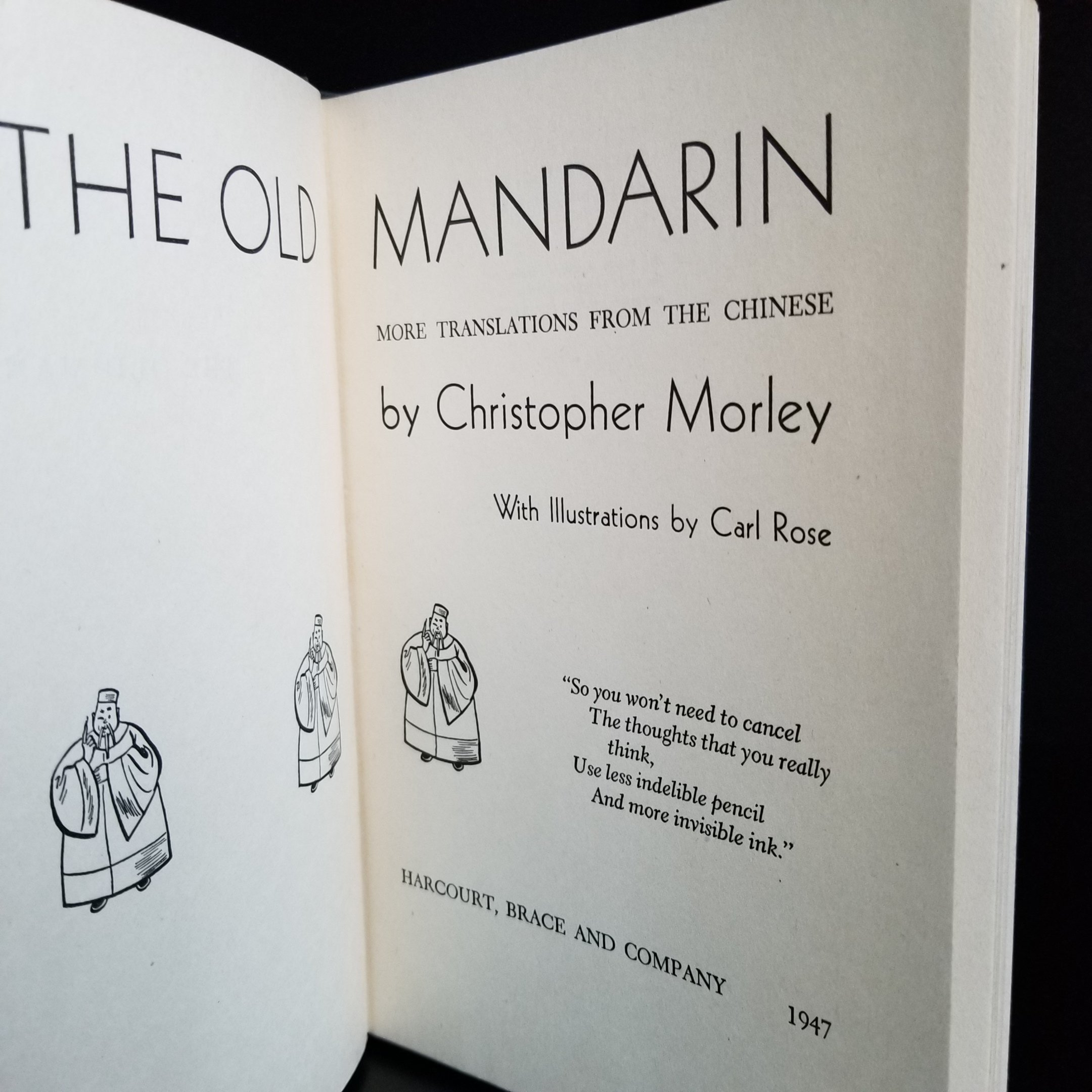 Image for The Old Mandarin. More Translations from the Chinese.